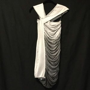 Bebe Shades Of Grey Dress